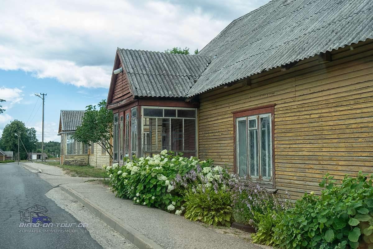 Litauen-Wohnhaus