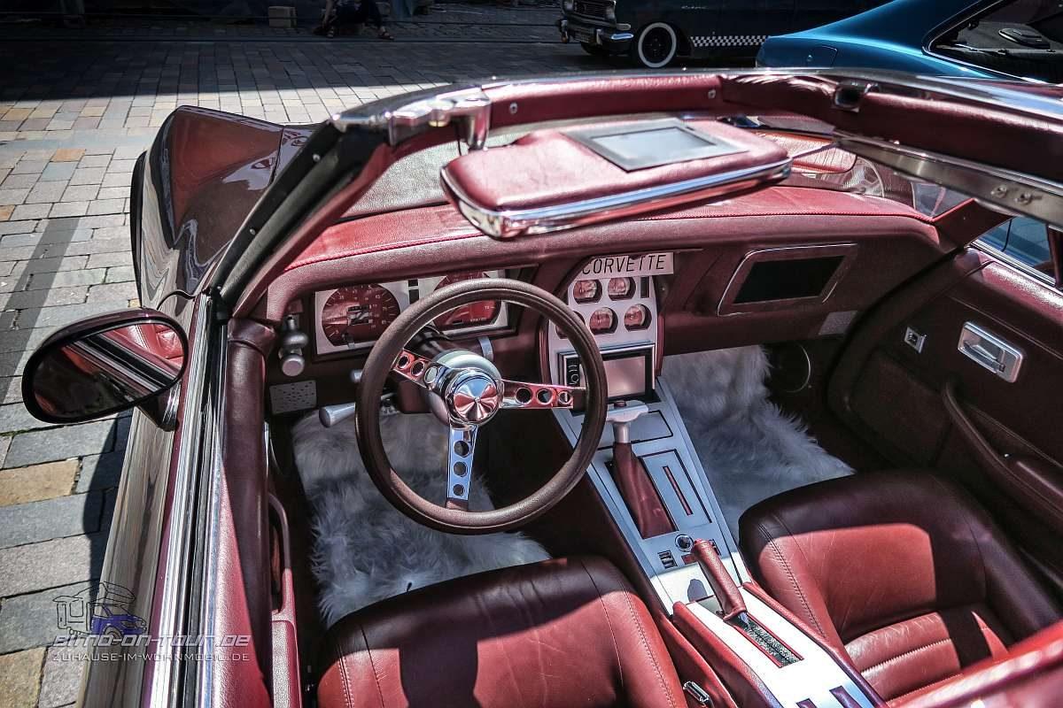 Oldtimer-Corvette