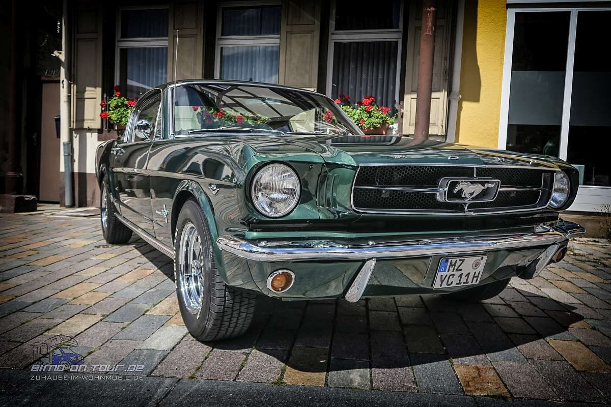 Oldtimer-Ford Mustang