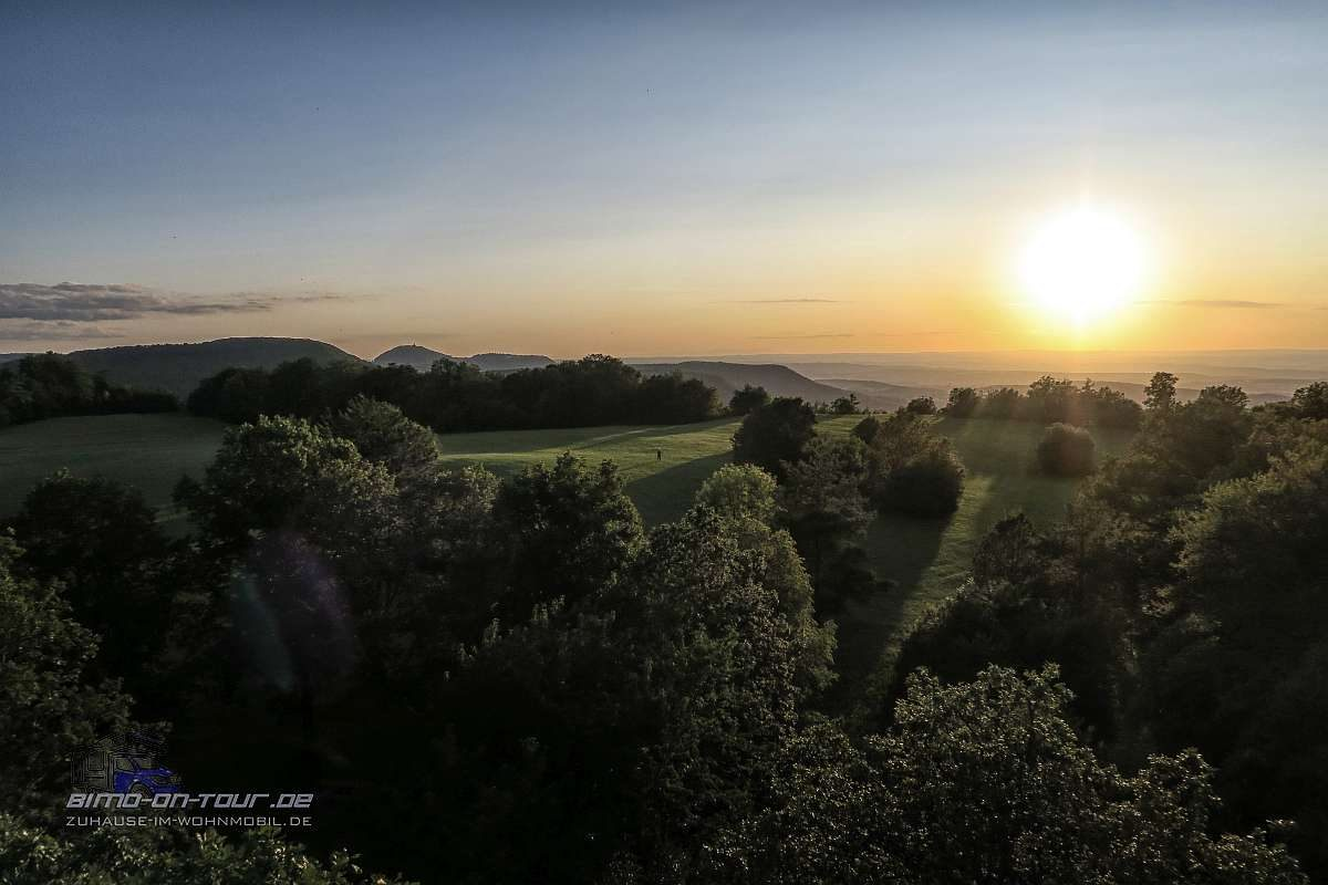 Schönbergturm-Abendsonne