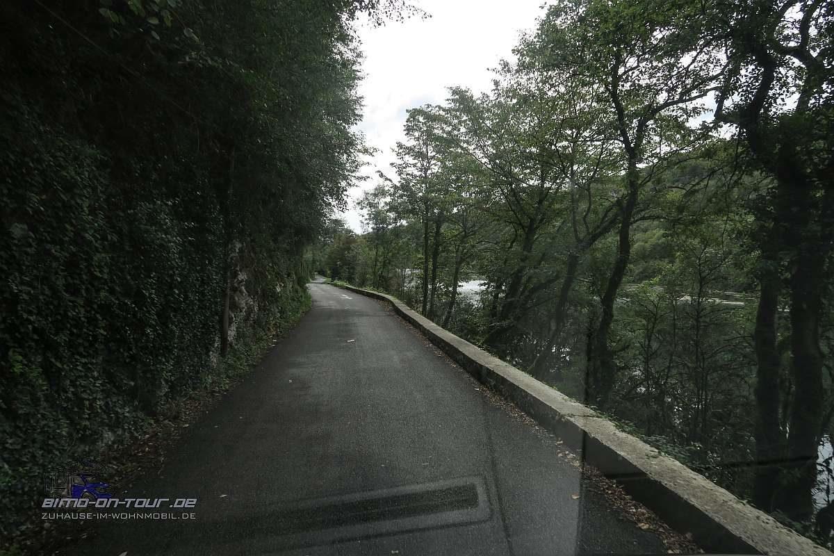 Kleine Straße an der Aim
