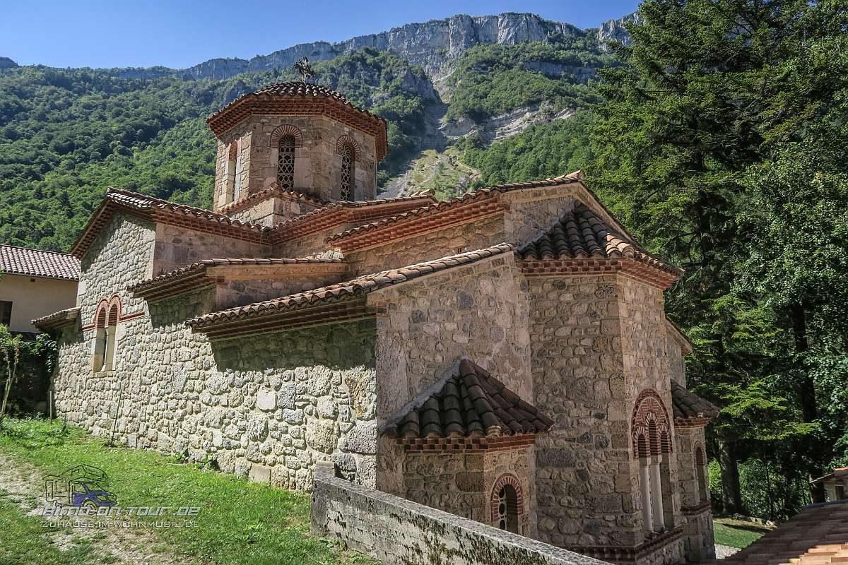 Orthodoxe Kirche im Gorge Laval