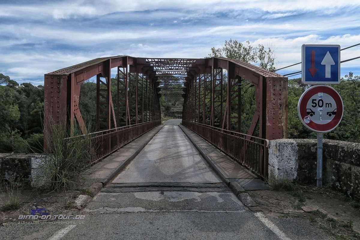 Cascades de L`Aille-Brücke