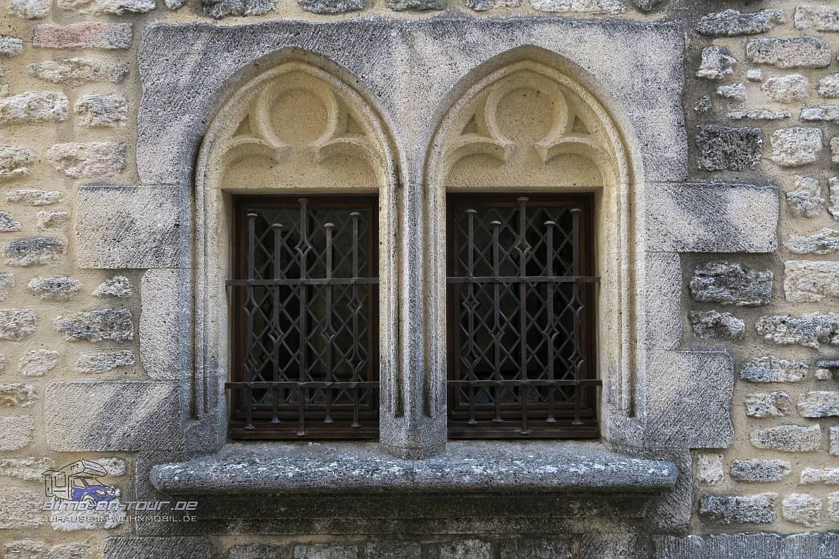 Castillon-du-Gard - Fenster