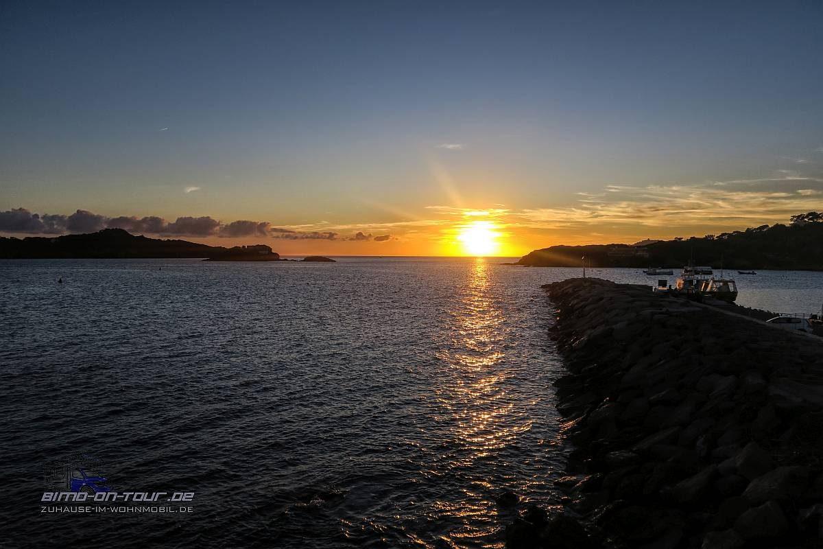 Giens-Sonnenuntergang