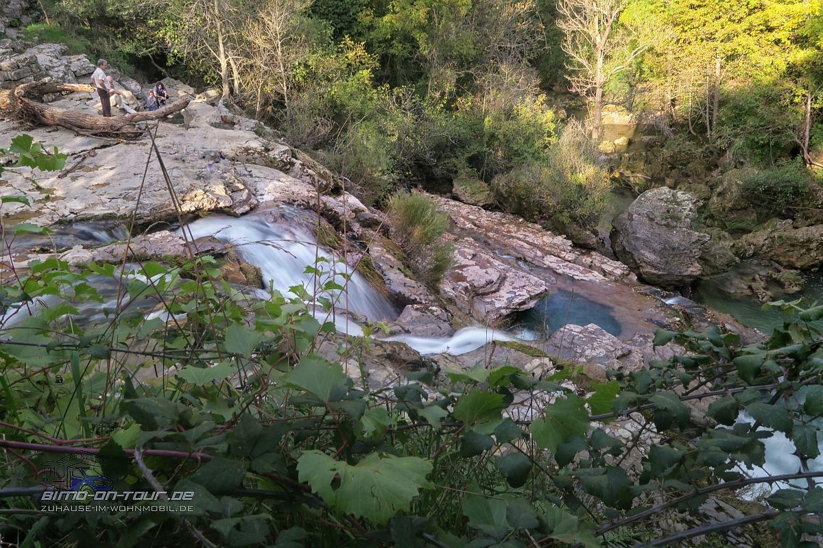 Navacelles-Wasserfall
