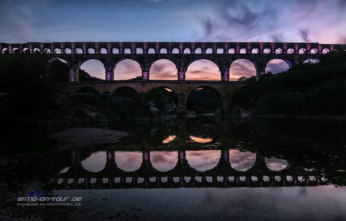 Pont du Gard - Illumination