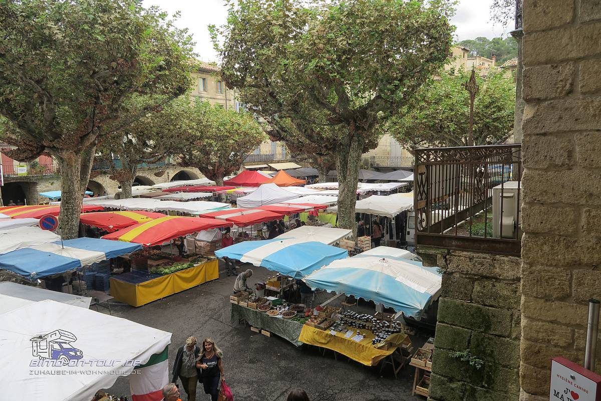 Sommières-Markt
