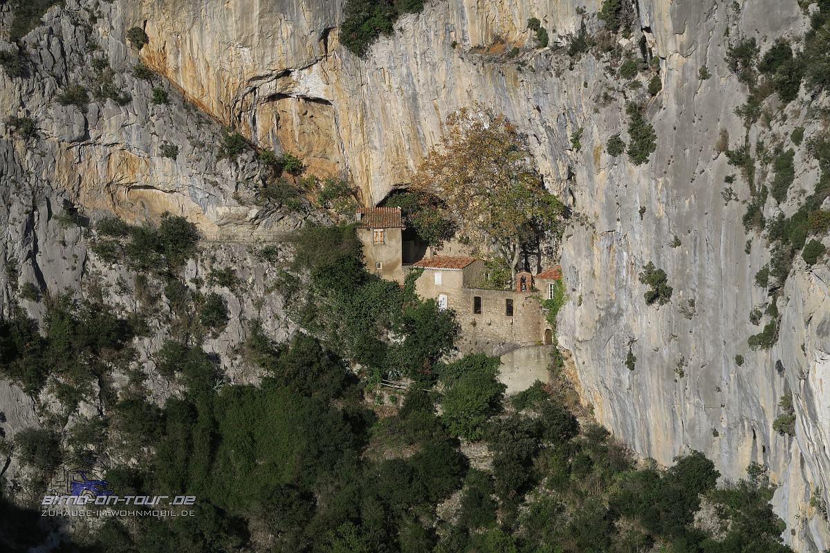Gorges de Gamalus - Eremitage