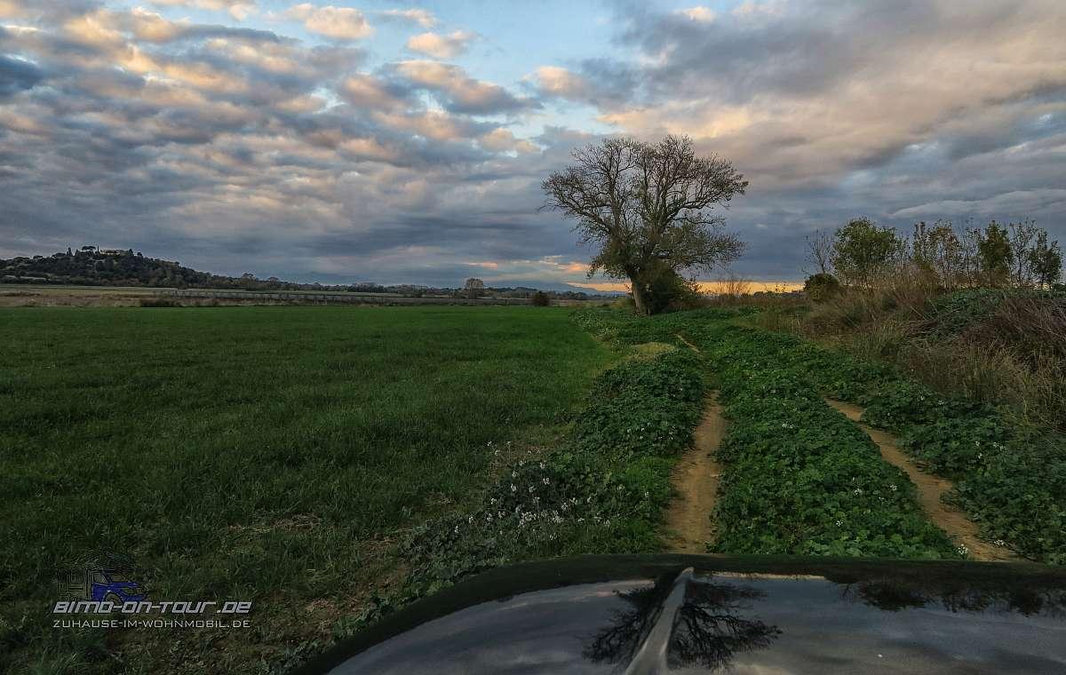 Katalonien-Feldweg