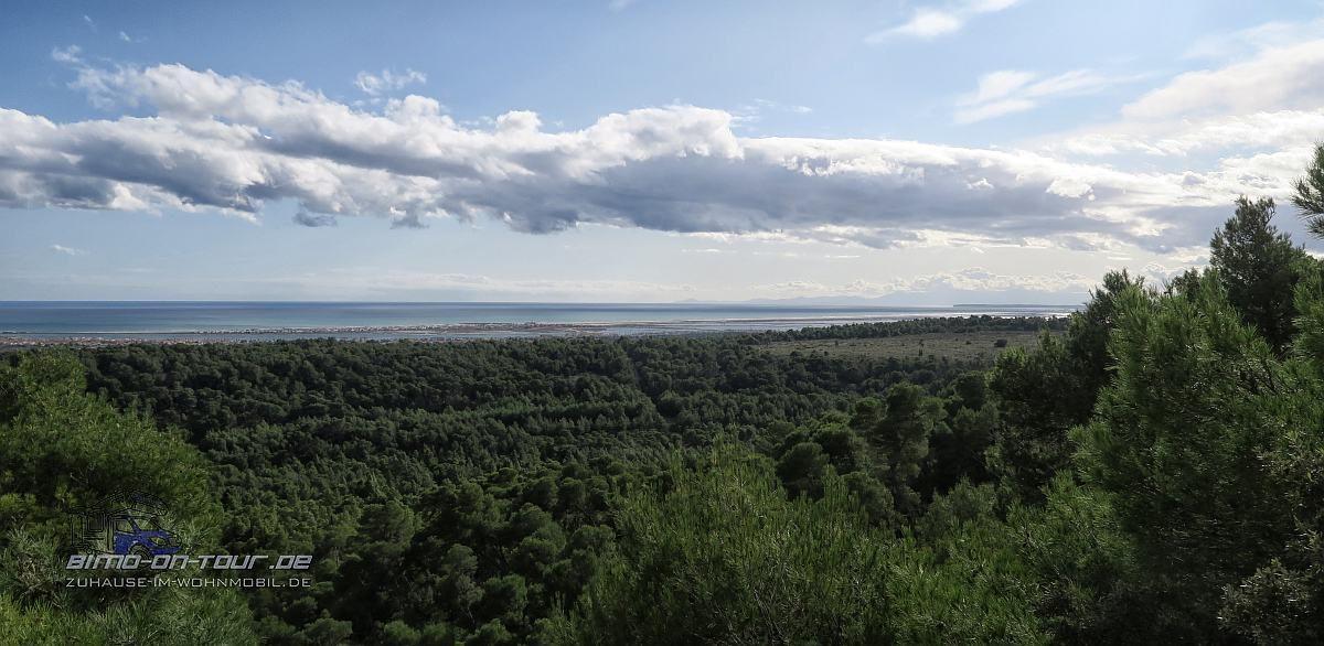 Montagne de la Clape-Aussicht