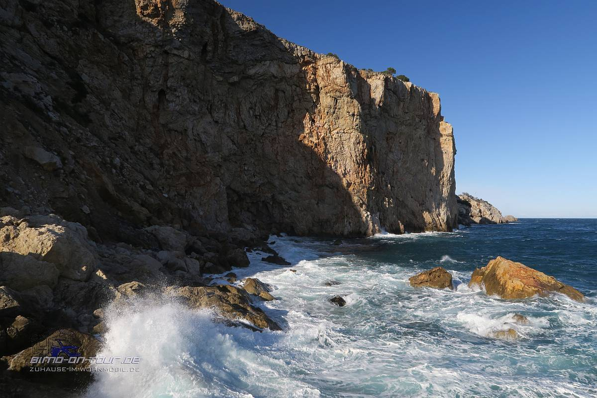 Passeig Molinet Steilküste