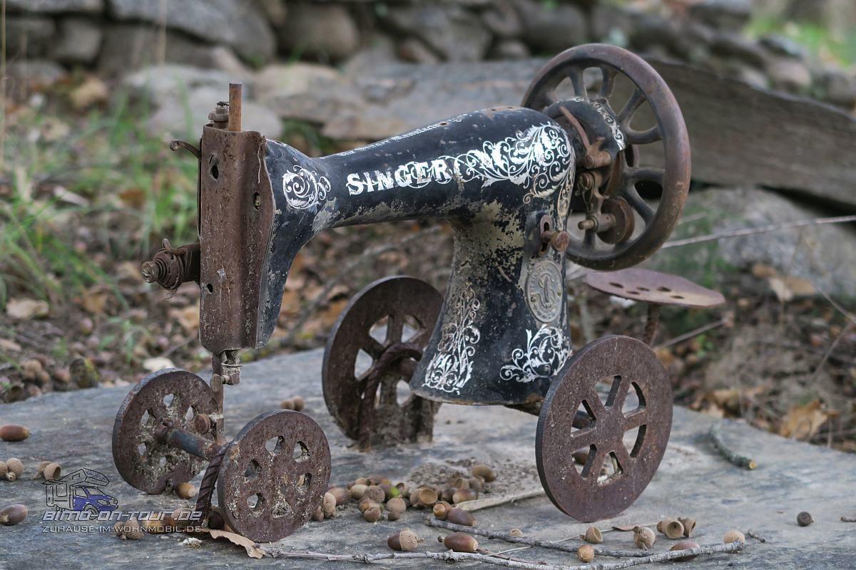 Stahlkunst - Singer Nähmaschine