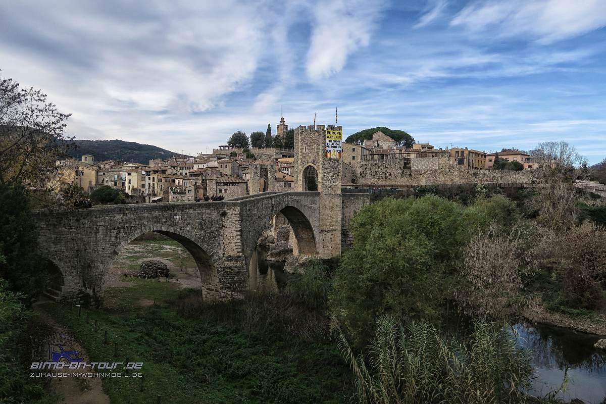 Besalú - Brücke