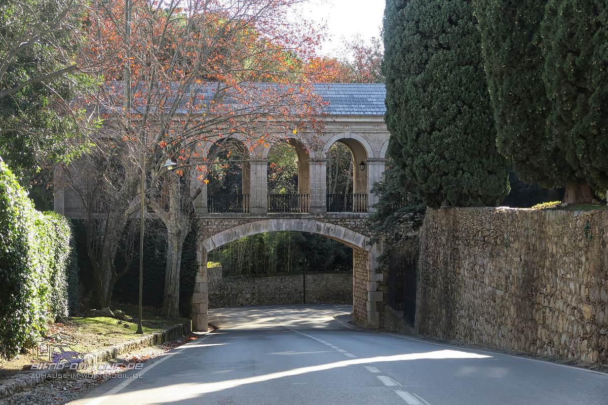 Castell de Peralada-Brücke
