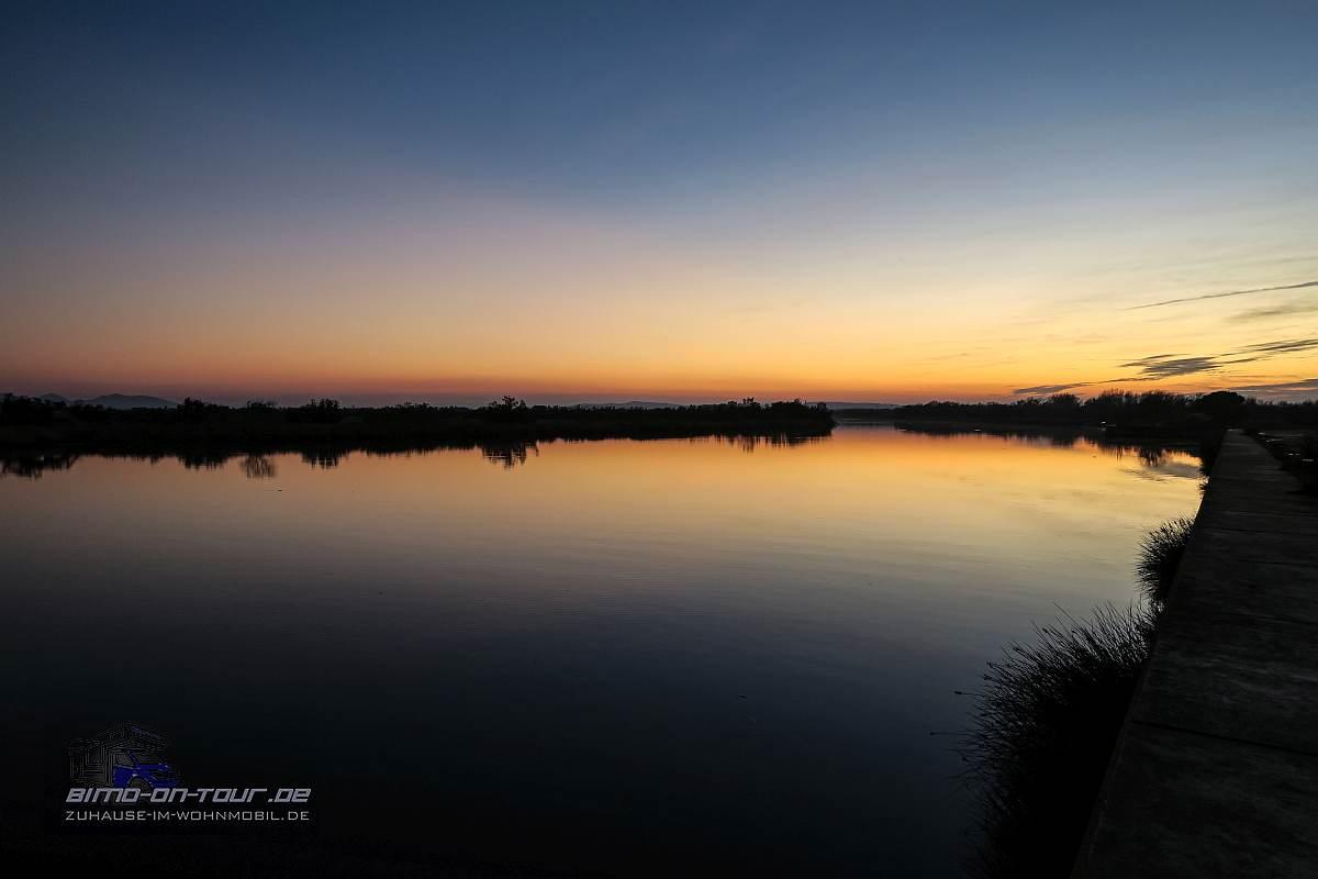 Fluvia-Sonnenuntergang