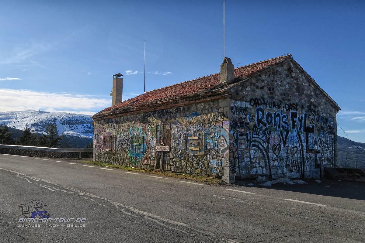 Pyrenäen-Grafitti