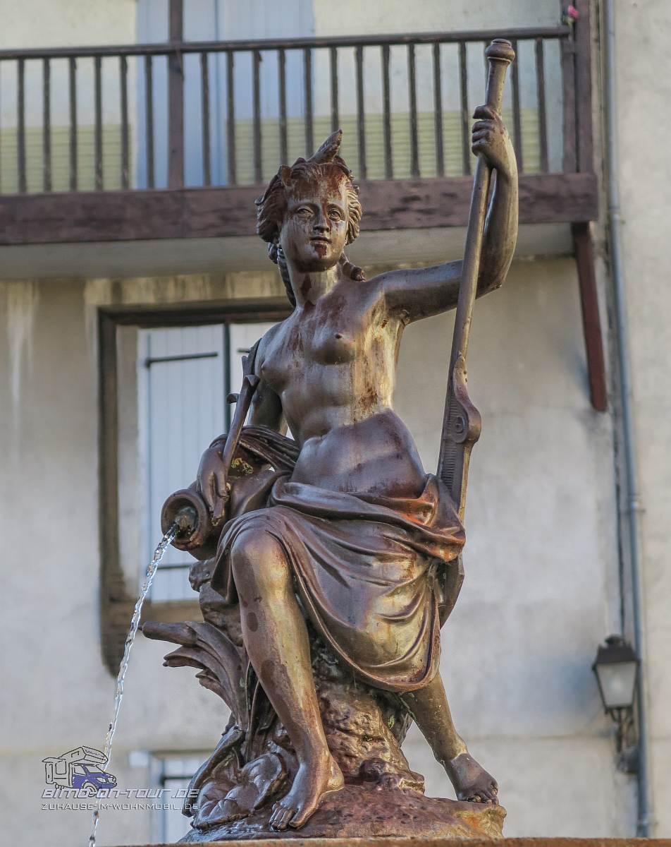 Saint Lizier-Figur