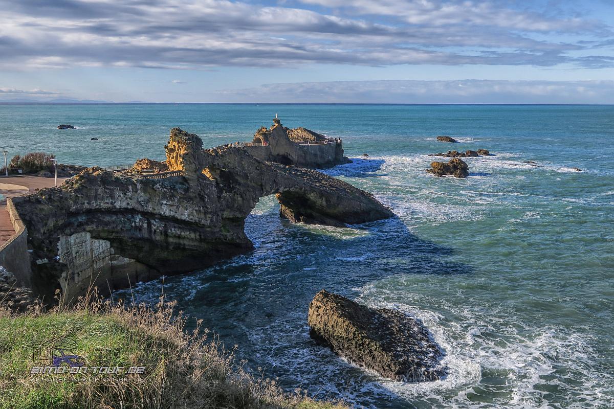 Biarritz-Rocher de la vierge
