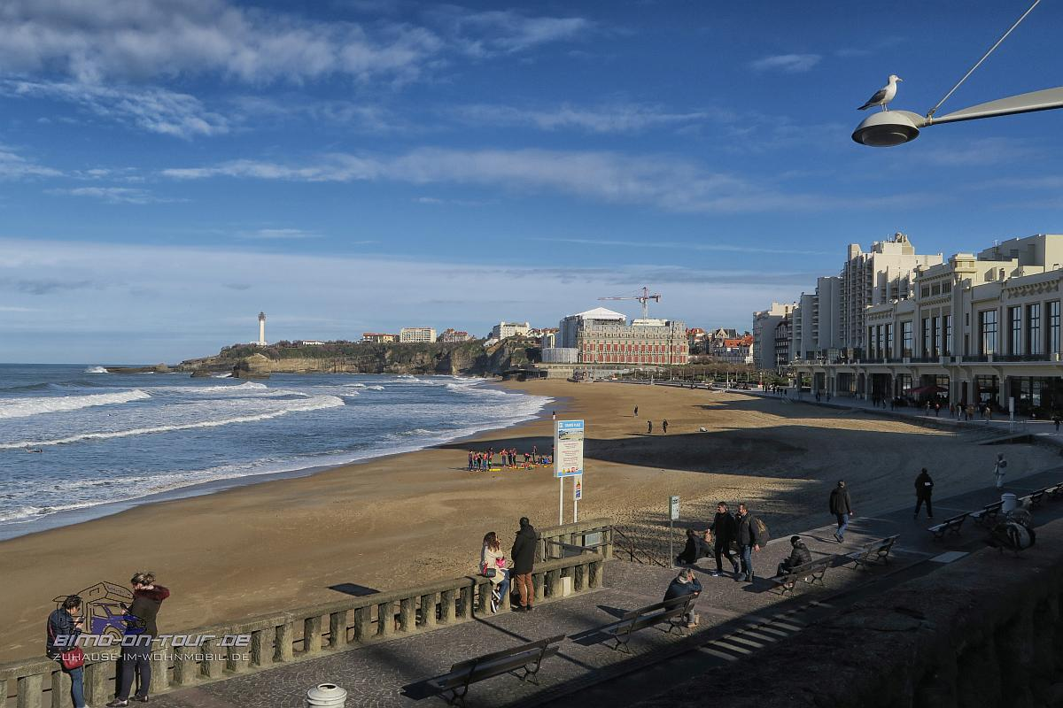 Biarritz-Strand
