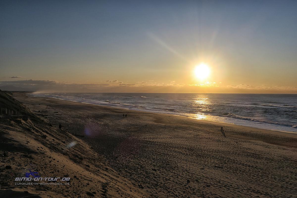 Capbreton-Sonnenuntergang