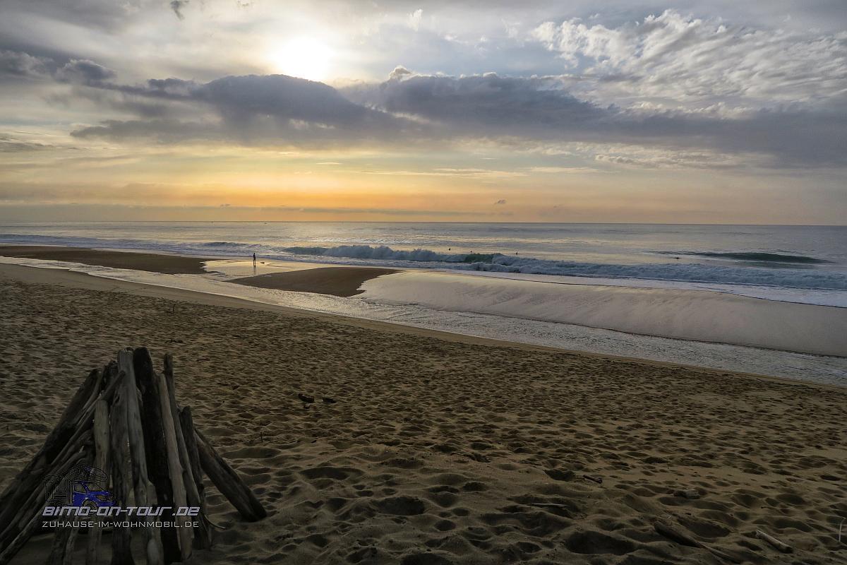 La Graviere-Sonnenuntergang