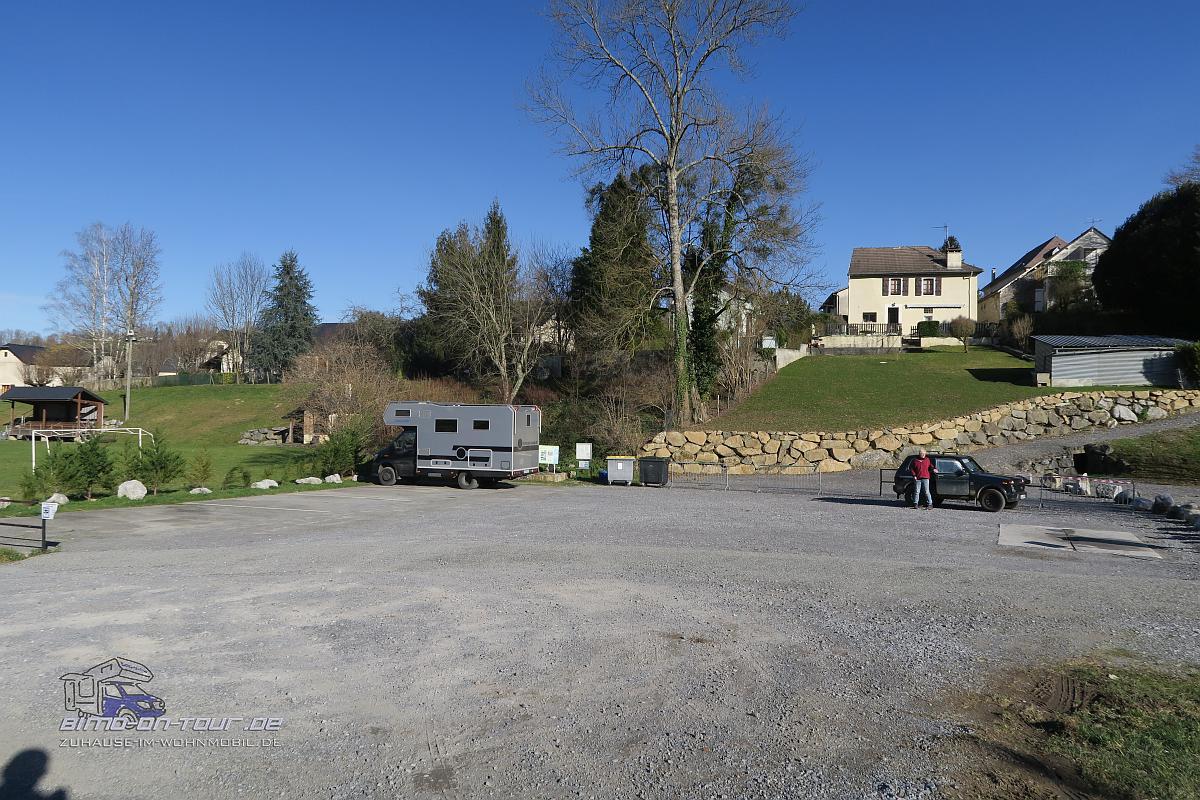 Rébénacq-Stellplatz