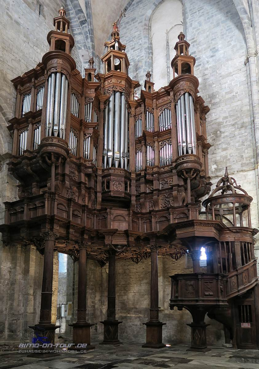 Saint-Bertrand-Basilika Orgel