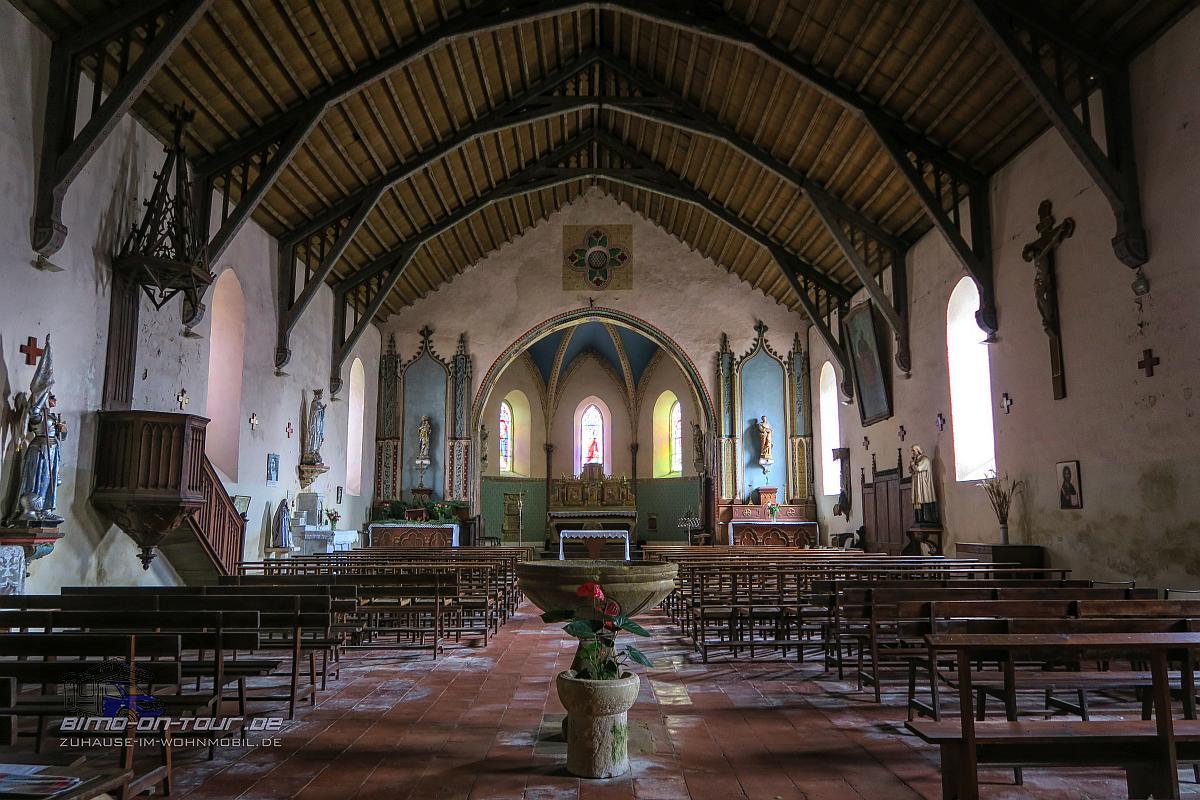 Tillac-Kirche