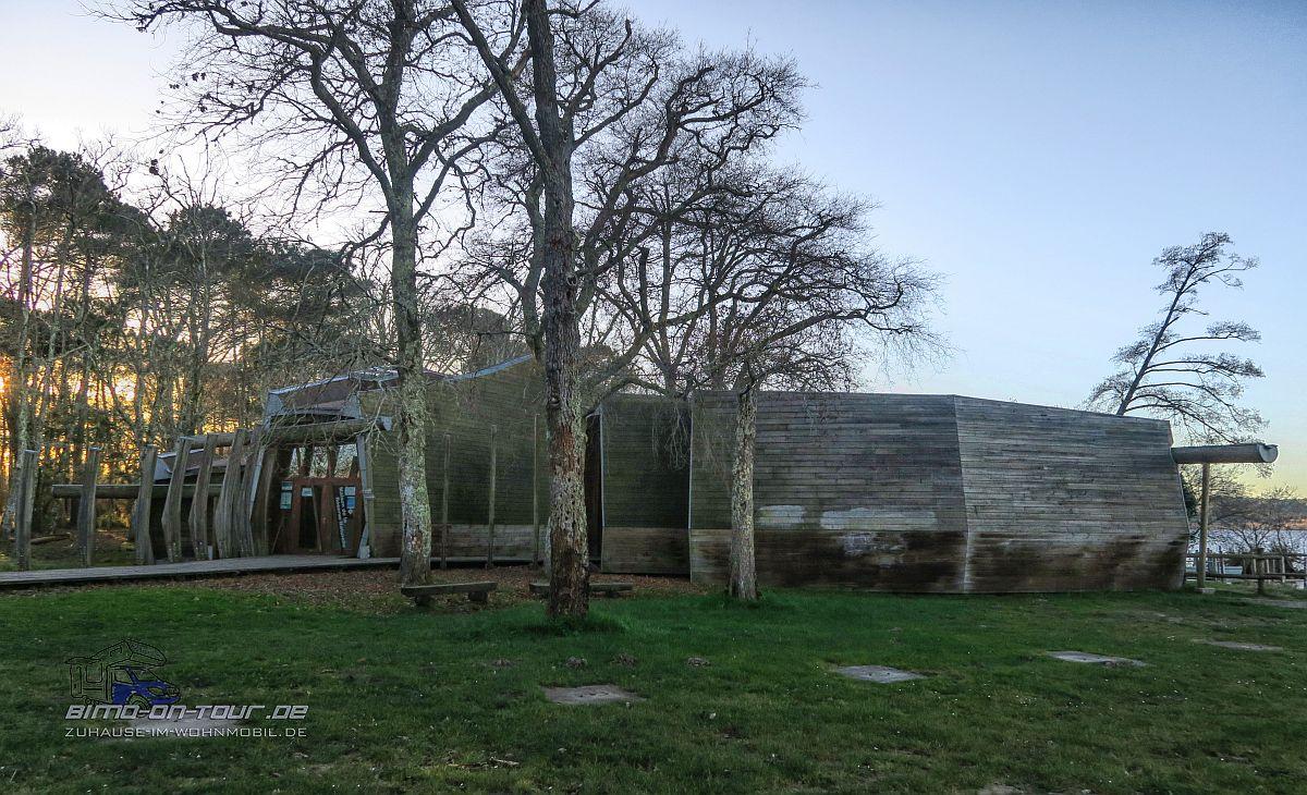 Réserve Naturelle du Courant d'Huchet-Besucherzentrum