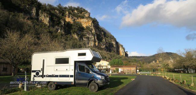 La Roque-Gageac-Stellplatz