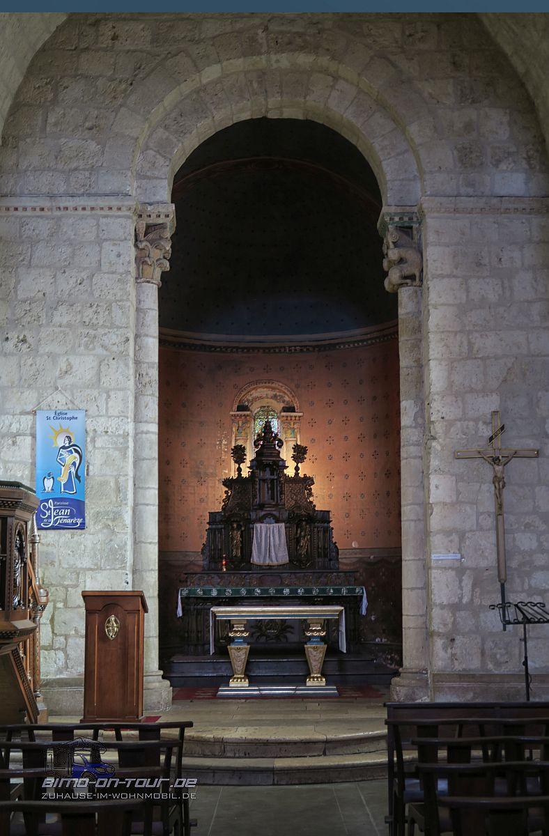 Nèrac - Kirche