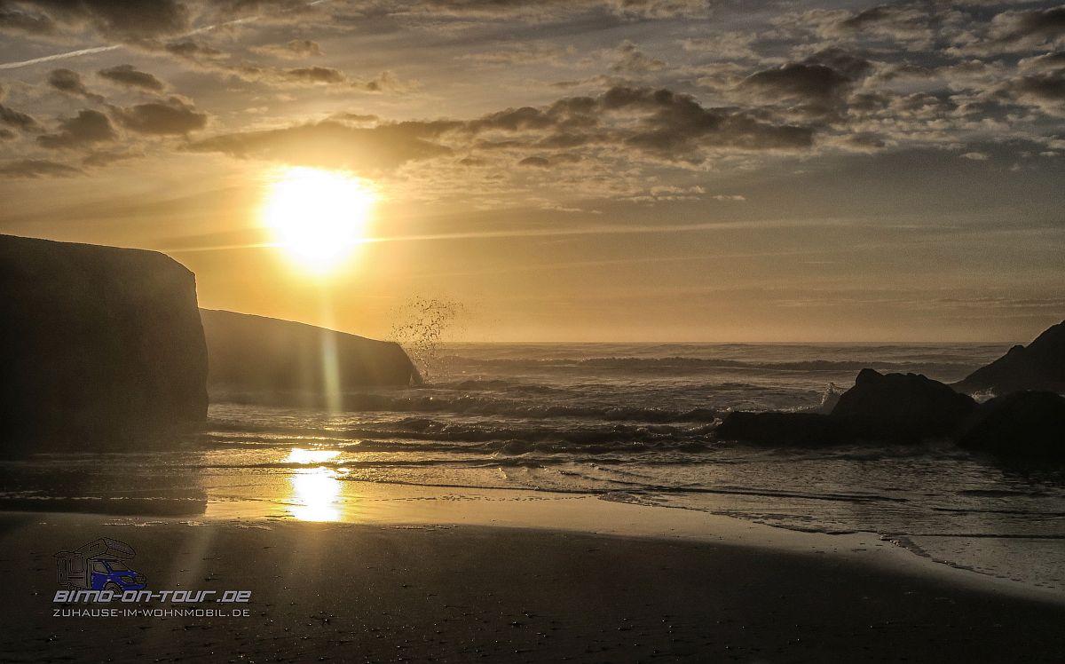 Océanides-Sonnenuntergang