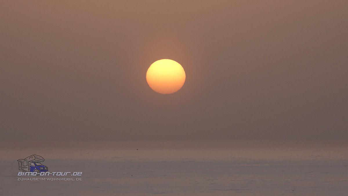 Océanides Sonnenuntergang