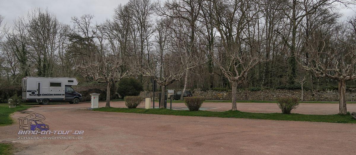 Saint-Jean-de-Côle-Stellplatz