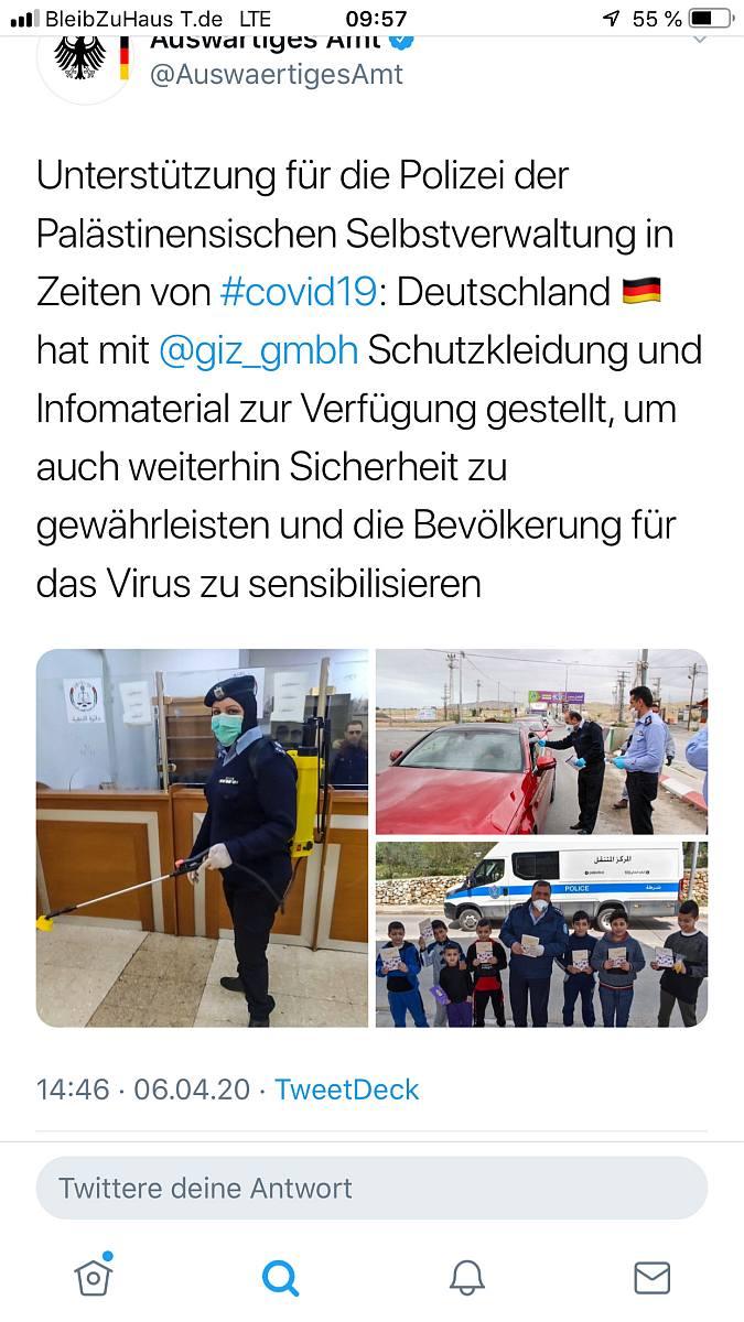 Auswätiges Amt -Tweet