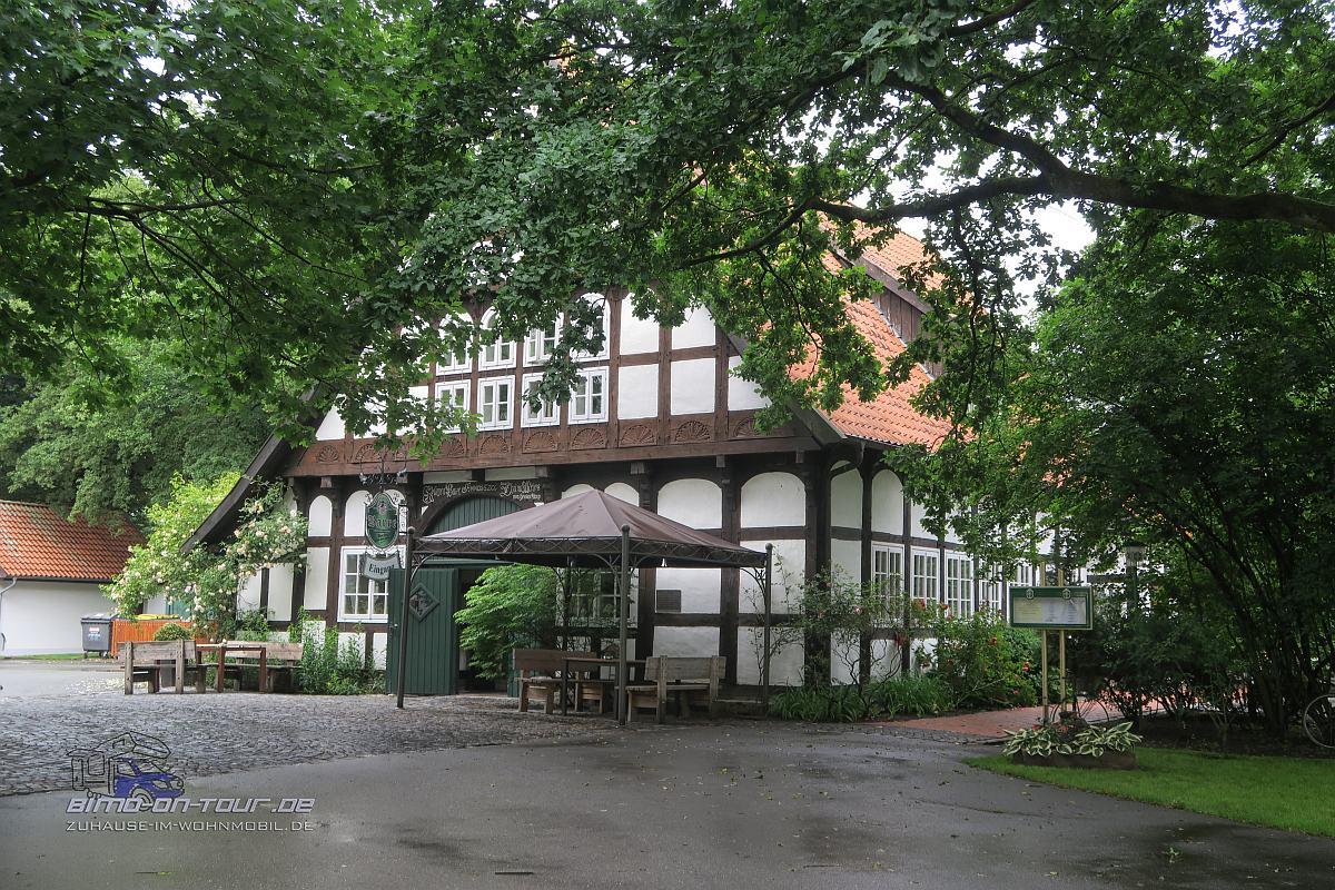 Grönebergpark-Fachwerkhaus