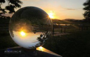 Grossenwieden-Sonnenuntergang