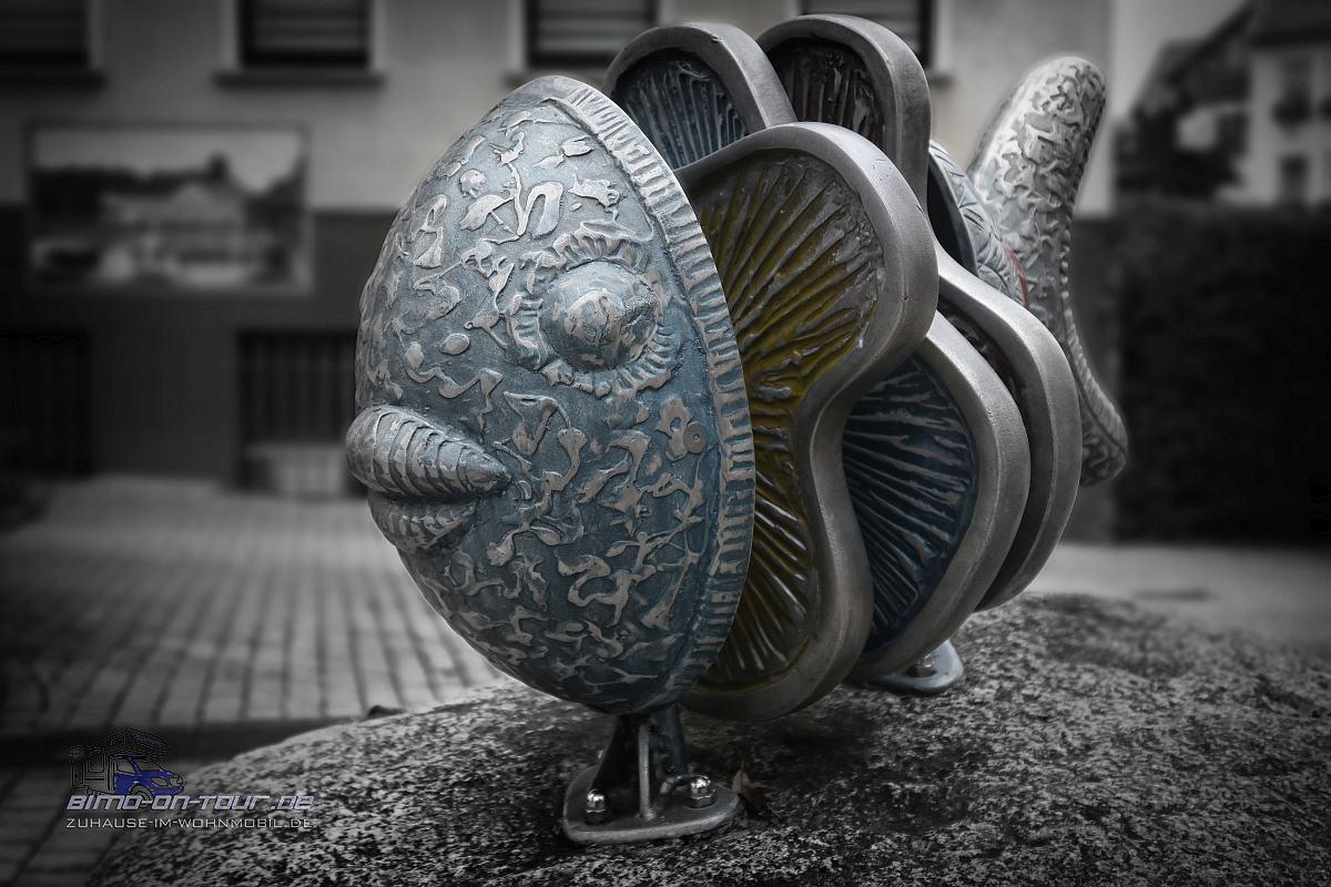 Bad Salzungen-Fisch Kunstwerk