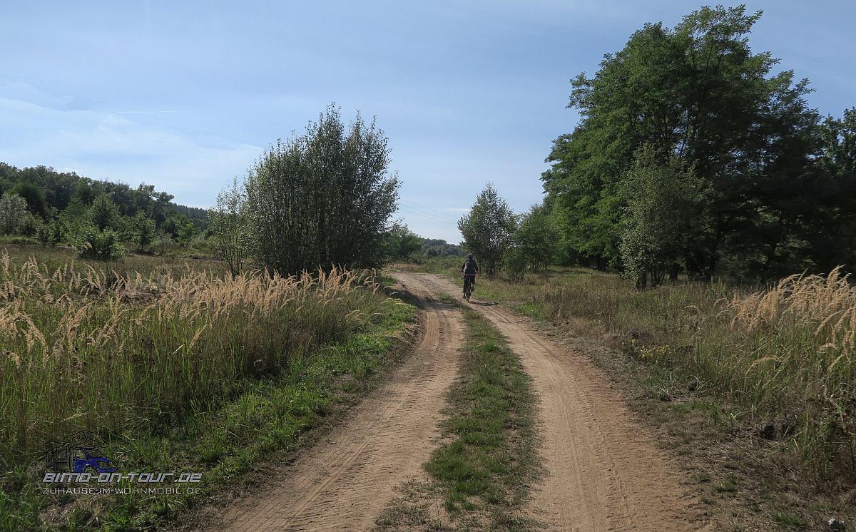 Radweg in Polen