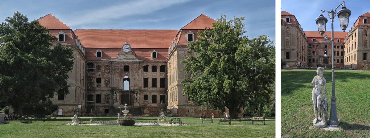 Ruiny Palacu Brühla Brodach