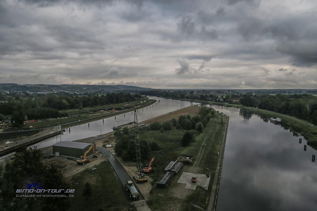 Schiffshebewerk Niederfinow-Aussicht