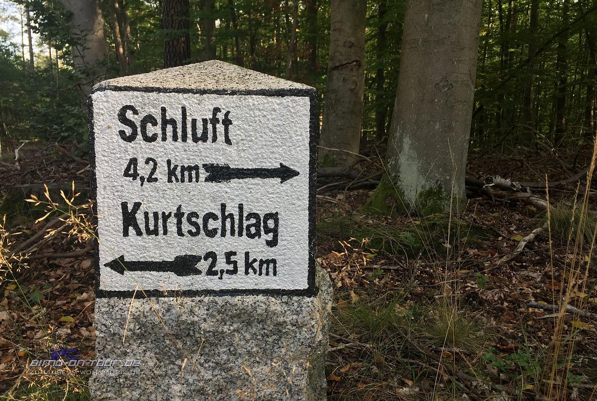 Schorfheide-Wegweiser
