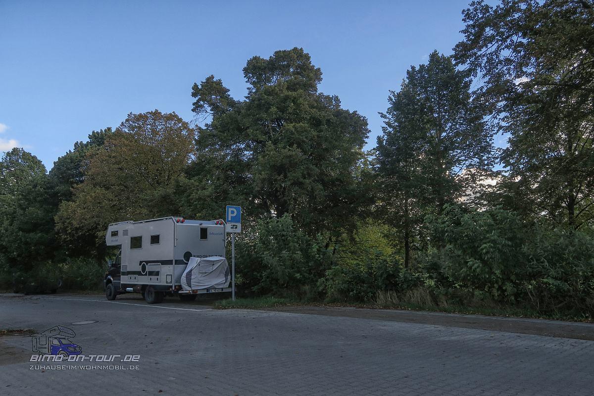 Güstrow-Wohnmobil Parkplatz