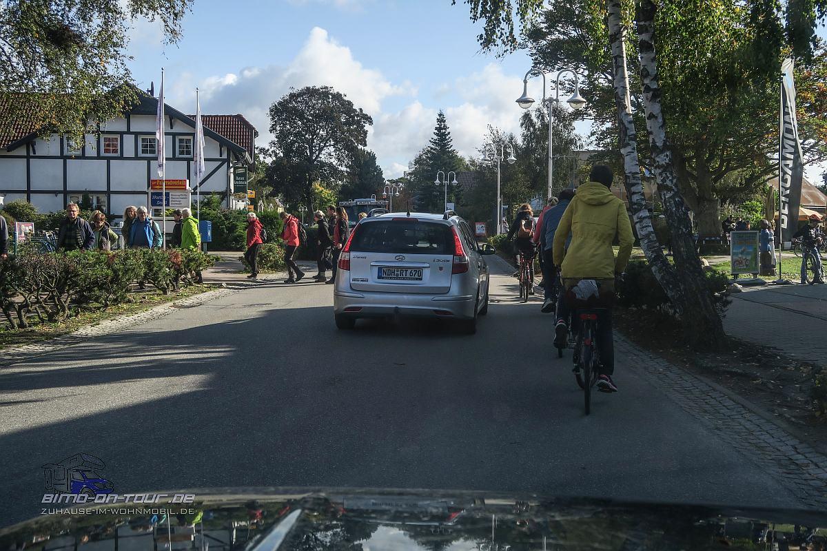 Verkehrsstau in Prerow