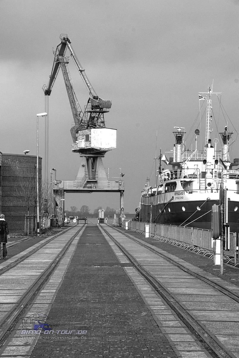Am Hafen von Elsfleth