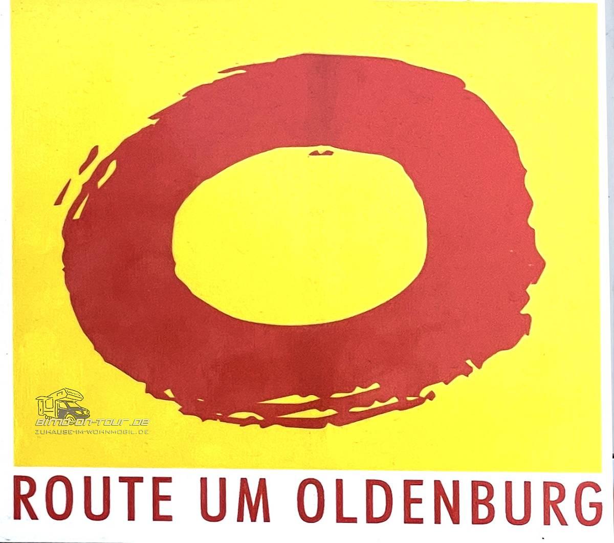 Route rund um Oldenburg