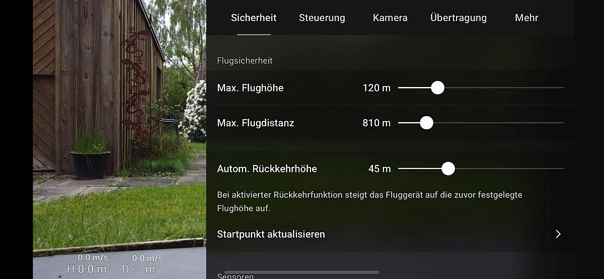 DJI Fly - Screenshot