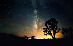 Mojave-Nachthimmel