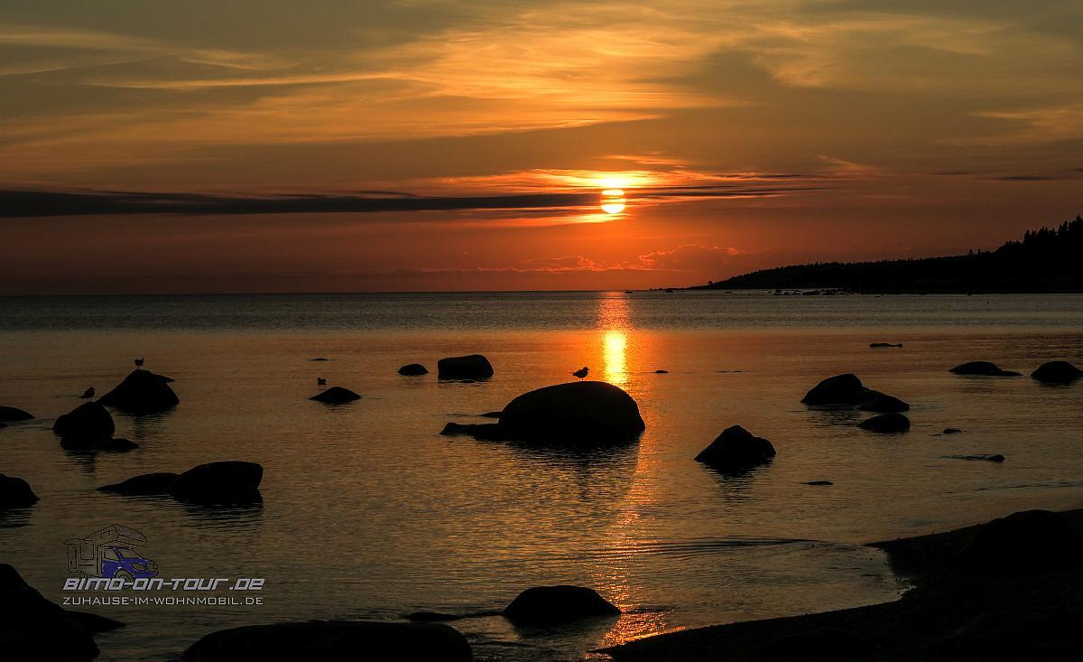 Ostsee im Sonnenuntergang